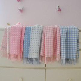 Baby Blankets Pure Wool
