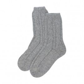 Bed Socks in grey