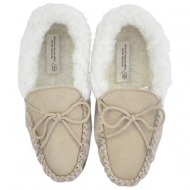 Moccasins Ladies Camel