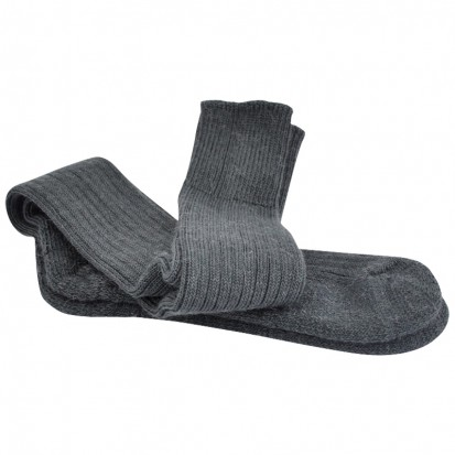 Original Ride Ski Fish Mohair Socks Charcoal