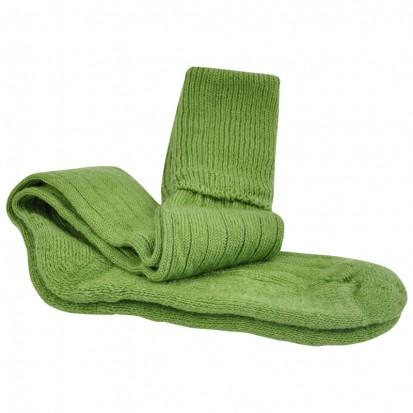 Mohair Shooting Socks Apple Green