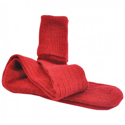 Mohair Shooting Socks Blood Red