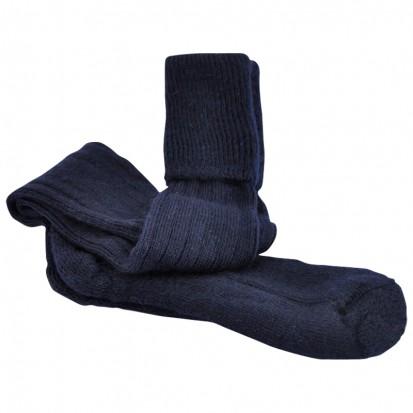 Mohair Shooting Socks Navy