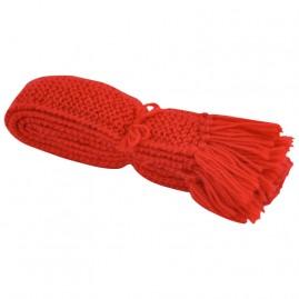 Wool Sock Ties Red