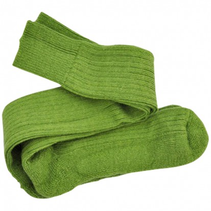Original riding skiing fishing walking mohair socks Apple Green