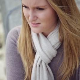 Gauzy scarf