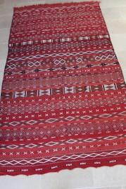 Mid Atlas Kilim rug Zemmour Tribe (No 3)