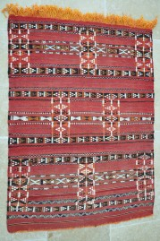 Mid Atlas Kilim rug Zemmour Tribe (No 25)