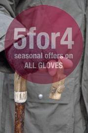 Fingerless Mohair Shooting Gloves