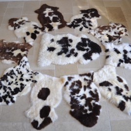 Small Jacob Sheepskin Rugs UK