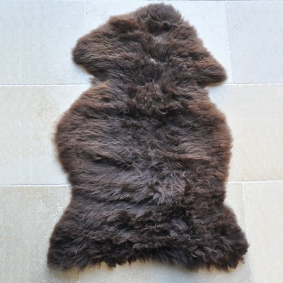 Chocolate Single Sheepskin