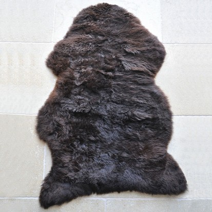 Native Brown Single Sheepskin