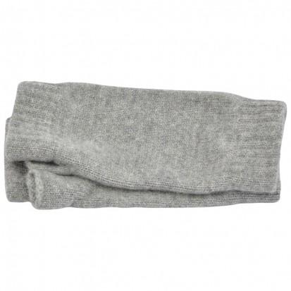 Cashmere Wristwarmers in Light Grey