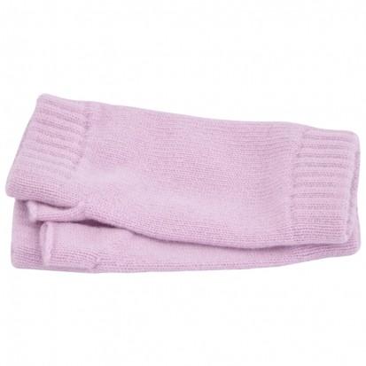 Cashmere Wristwarmers in Lilac