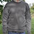 Cashmere Crew Neck Mid Grey Sweater