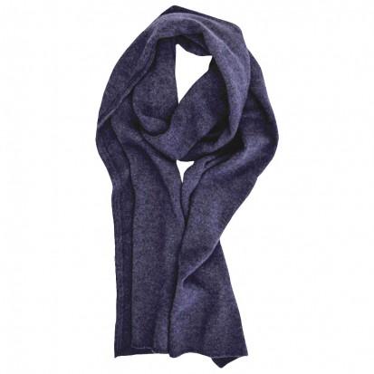 Cashmere gauzy scarf blackberry