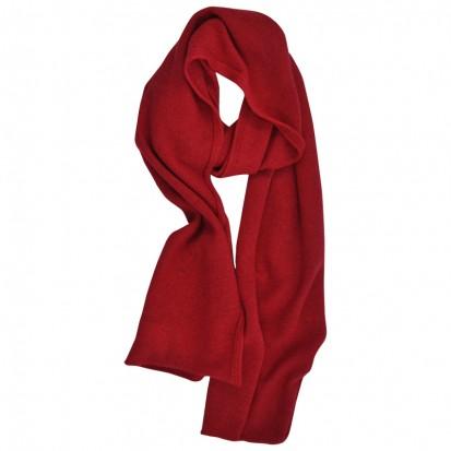 Cashmere gauzy scarf cornelian