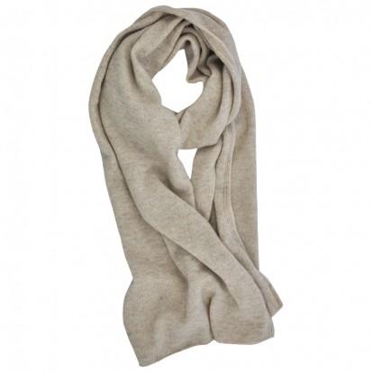 Cashmere gauzy scarf dark medium dyed