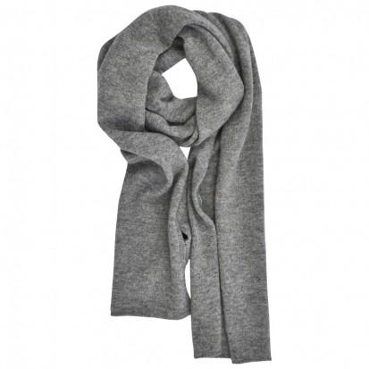 Cashmere gauzyscarf light grey