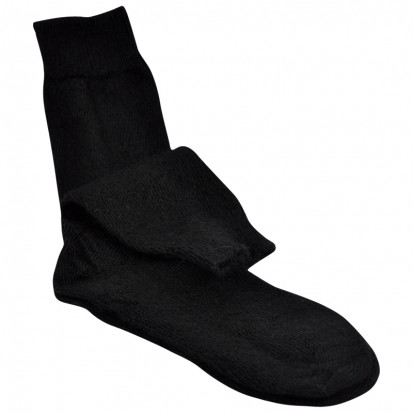 Childrens Mohair Socks in Black