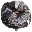 Cowhide Bean Bag Tricolour