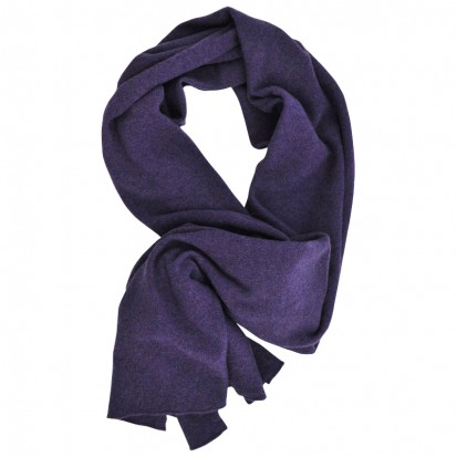 Gauzy lightweight stole purple melange