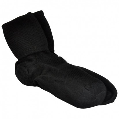 Ladies Cashmere Black Socks