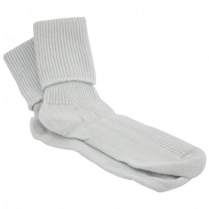 Ladies Cashmere Socks Soft Blue
