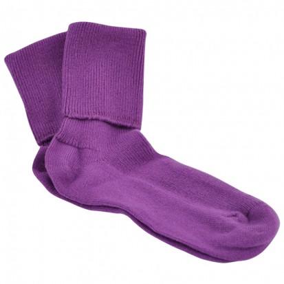 Ladies Cashmere Socks Thistle