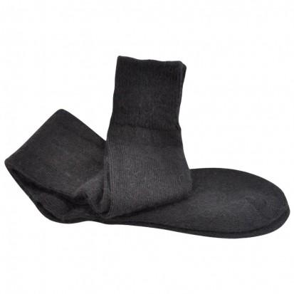 Long Everyday LtWeight Ride Ski Walk Mohair Socks Black