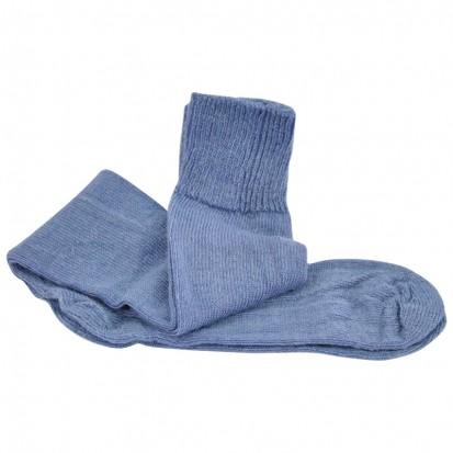 Long Everyday LtWeight Ride Ski Walk Mohair Socks Denim