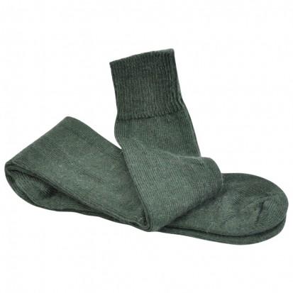 Long Everyday LtWeight Ride Ski Walk Mohair Socks Green