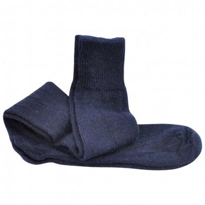 Long Everyday LtWeight Ride Ski Walk Mohair Socks Navy