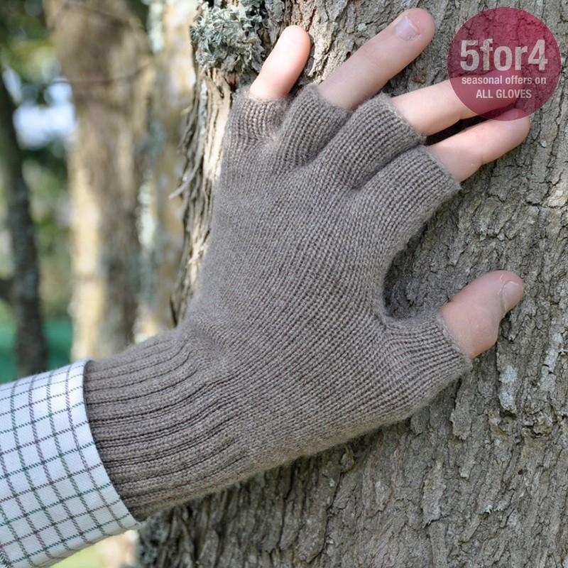 500aeec10ee75 Cashmere Fingerless Gloves