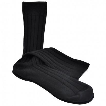 Mens Cashmere Socks in Black
