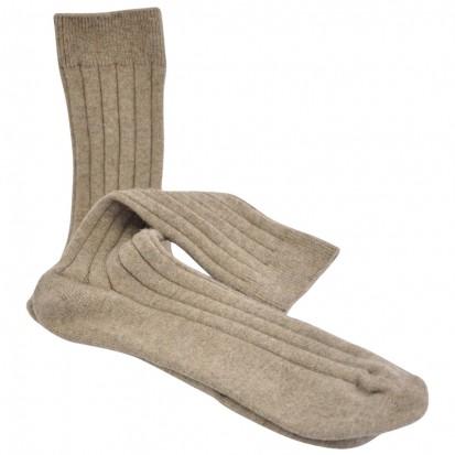 Mens Cashmere Socks in Otter