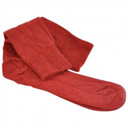 Mohair Everyday Socks Blood Red