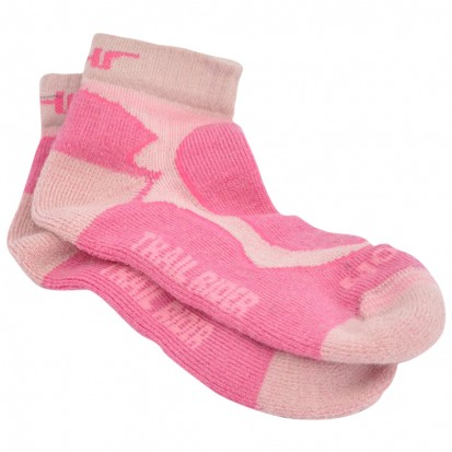 Mohair Technical Trail Rider Sock Pink Cerise
