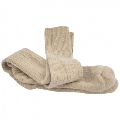 Original Ride Ski Fish Socks Biege