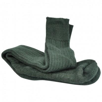 Original Ride Ski Fish Mohair Socks Green