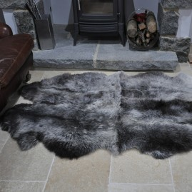 Quadruple Sheepskin Rugs