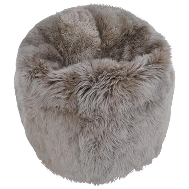 Sheepskin Bean Bags Mohair More New Sheepskin Pouf Bean Bag