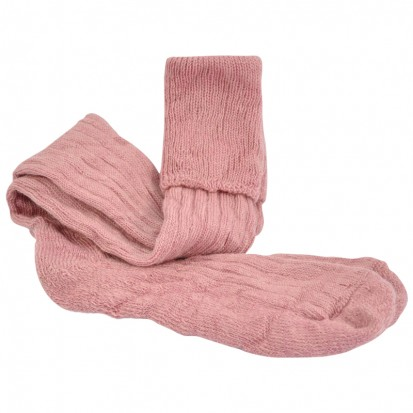 Mohair Shooting Socks Dusty pink