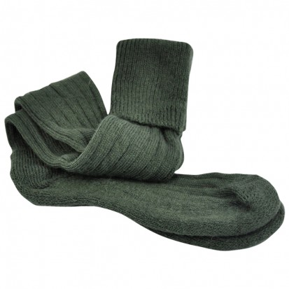 Mohair Shooting Socks Green