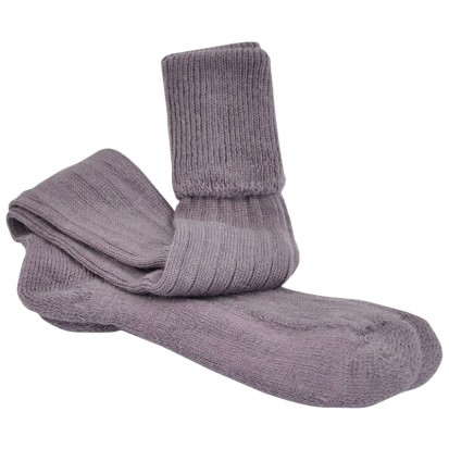 Mohair Shooting Socks Heather