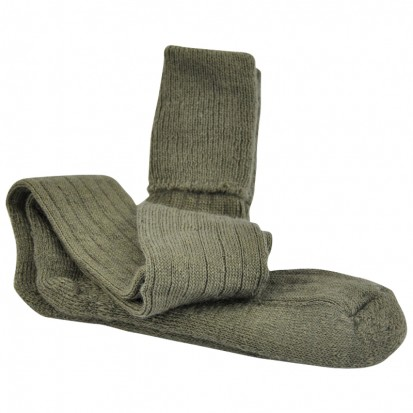 Mohair Shooting Socks Olive