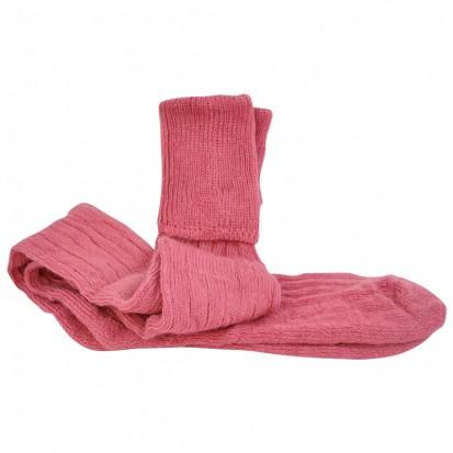 Mohair Shooting Socks Rhubarb