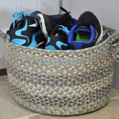 Jute Basket Sea Spray