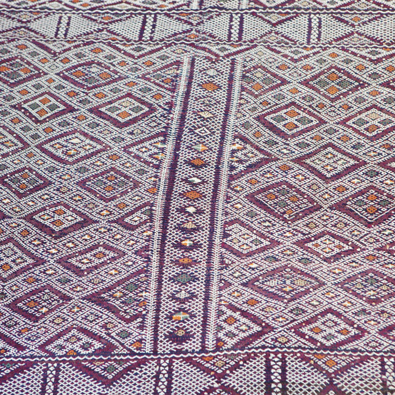Mid Atlas Kilim rug BeniMguild Tribe (No 17)_swatch