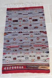 Mid Atlas Kilim rug Zemmour Tribe (No 6)